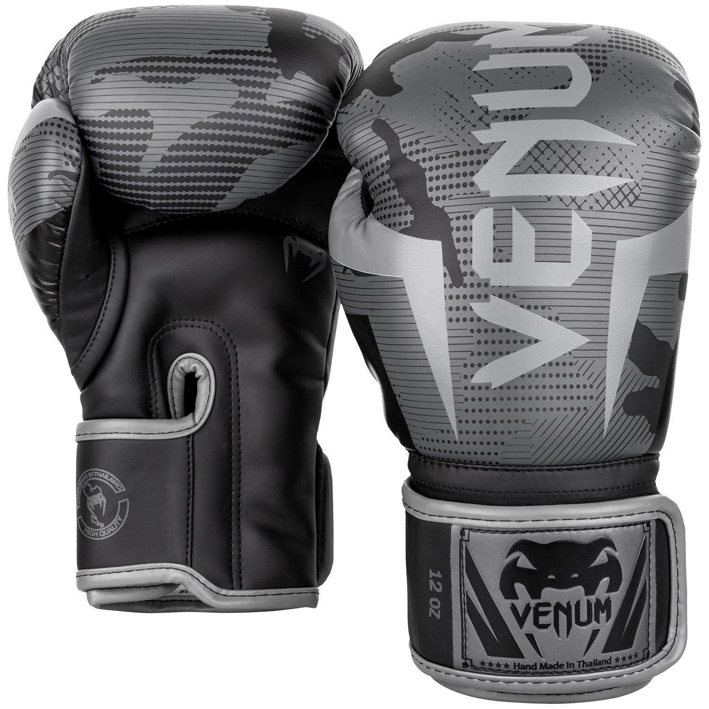 Venum Elite Gloves - Black/ Dark Camo