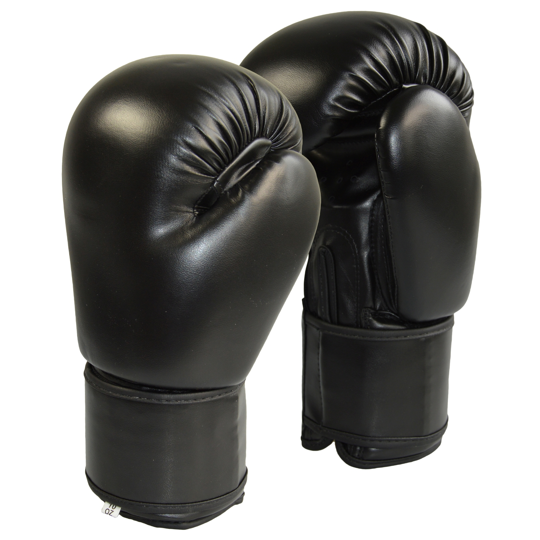 Boxhandschuhe Carbon Optic blau-Mesh grau