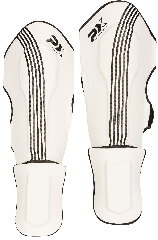 PX Schienbein-Spannschutz FIGHT PRO weiß-schwarz