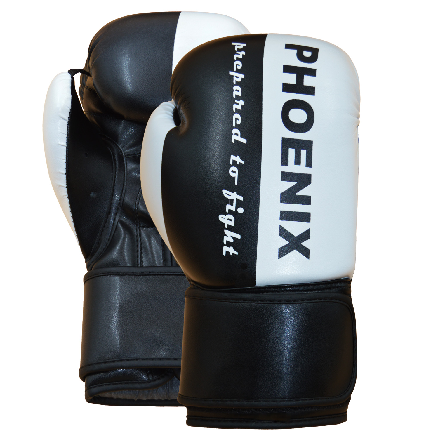 """PX Boxhandschuh """"Prepared to Fight"""" PU s/w"""