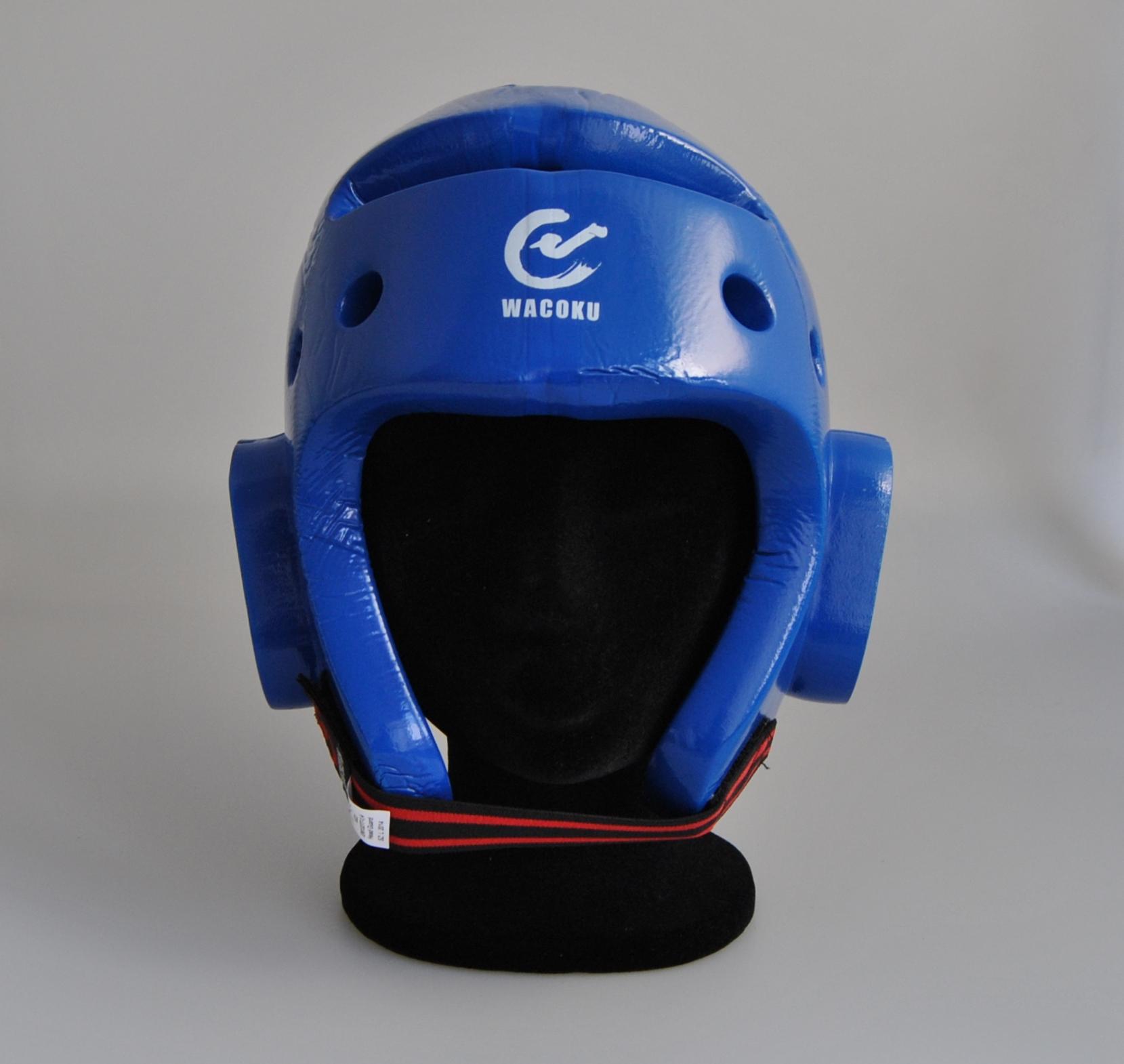 WACOKU WTF-Kopfschutz blau