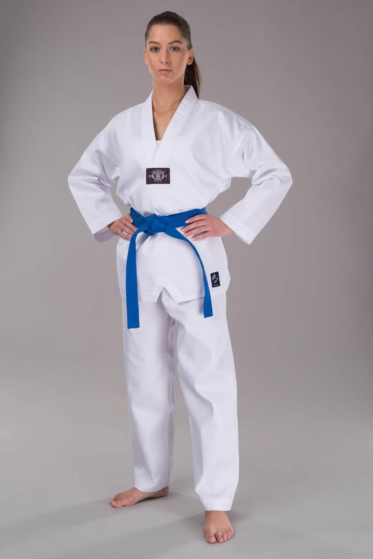 PX CHALLENGE Taekwondo weiß, Rückendruck